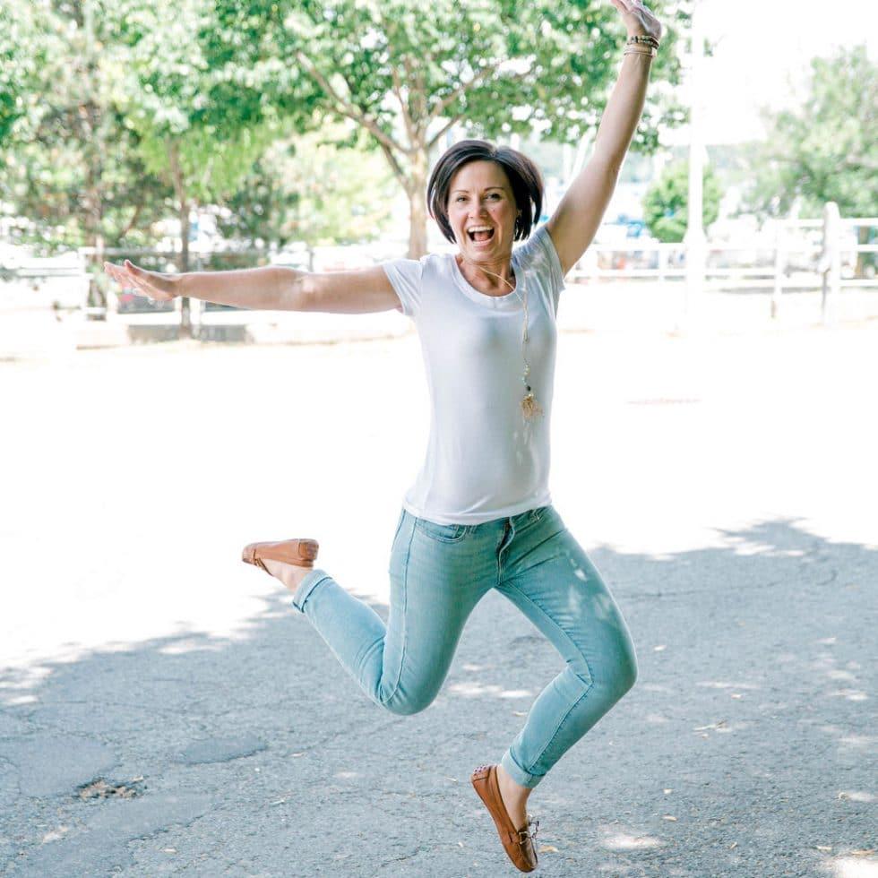 Andrea Parker Jumping